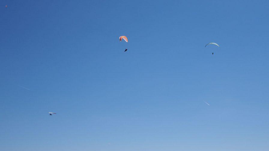 Paralotnie nadKobalą - 30 maja 2017
