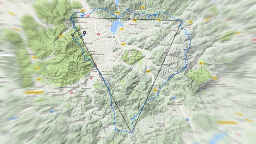 Tracklog Kuby Sto z2017-05-14 - trójkąt 102,55 km