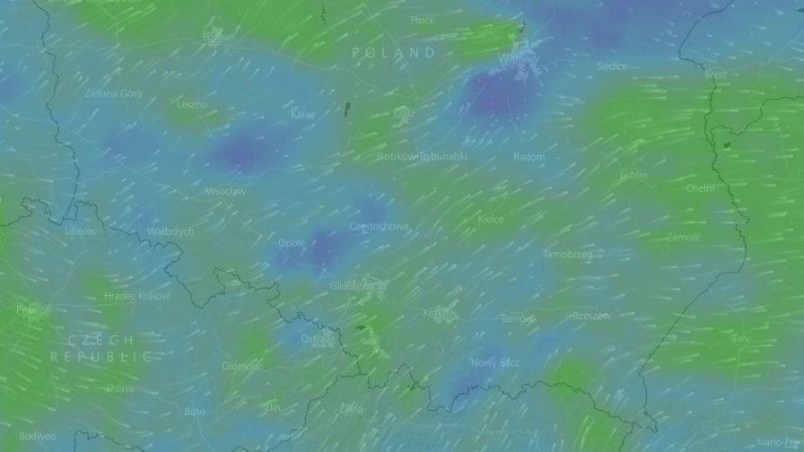 Prognoza pogody - wiatr